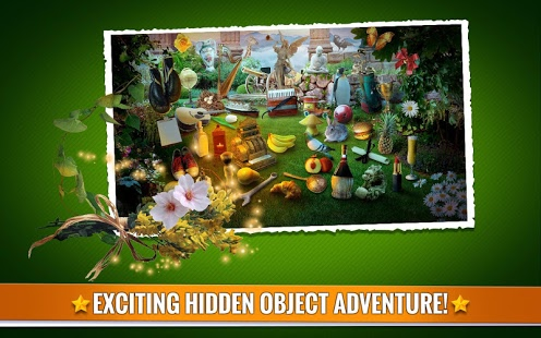 Hidden Objects: Mystery Garden