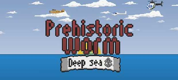 Prehistoric worm Deep sea