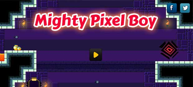Mighty Pixel Boy: Retro Arcade