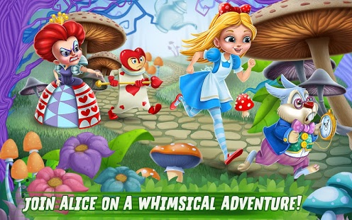 Alice in Wonderland Rush