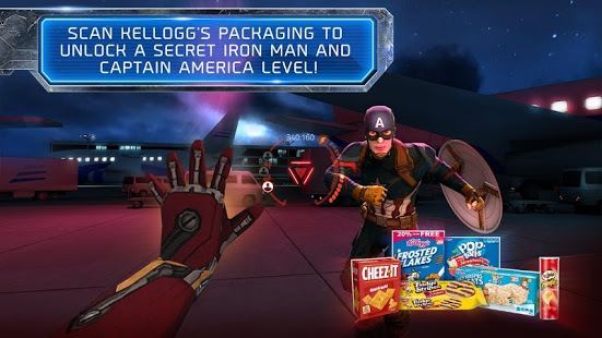 Kellogg Marvel's Civil War VR