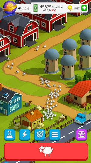 Oh Sheep - Clicker Game !