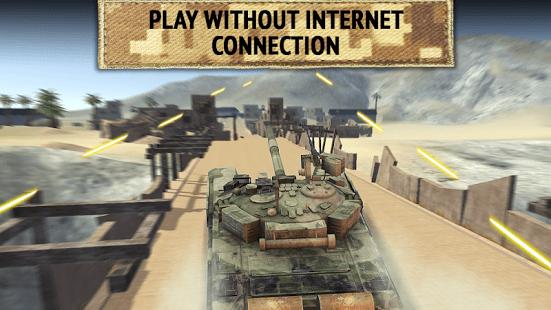 Tank Shooting Attack 2