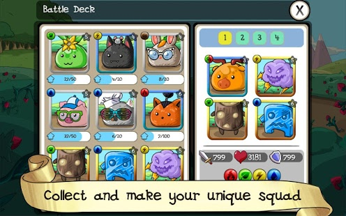 Fluffy Adventure - Match3 RPG & Action Puzzle Game