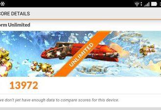 ASUS Zenfone 3 în 3DMark Ice Storm Unlimited