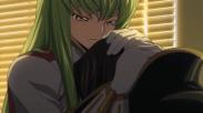 Só restou C.C. ao lado de Lelouch para consolá-lo em seu choro