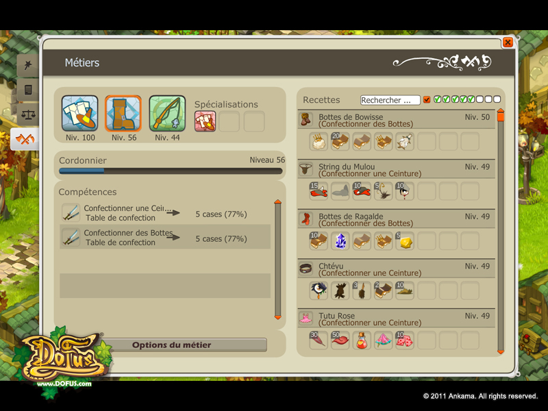 Les Metiers Dofus Tutorials Learn To Play Dofus The Tactical Mmorpg