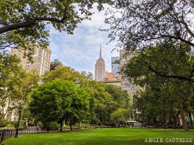 Zonas para alojarse en Nueva York - Madison Square Park