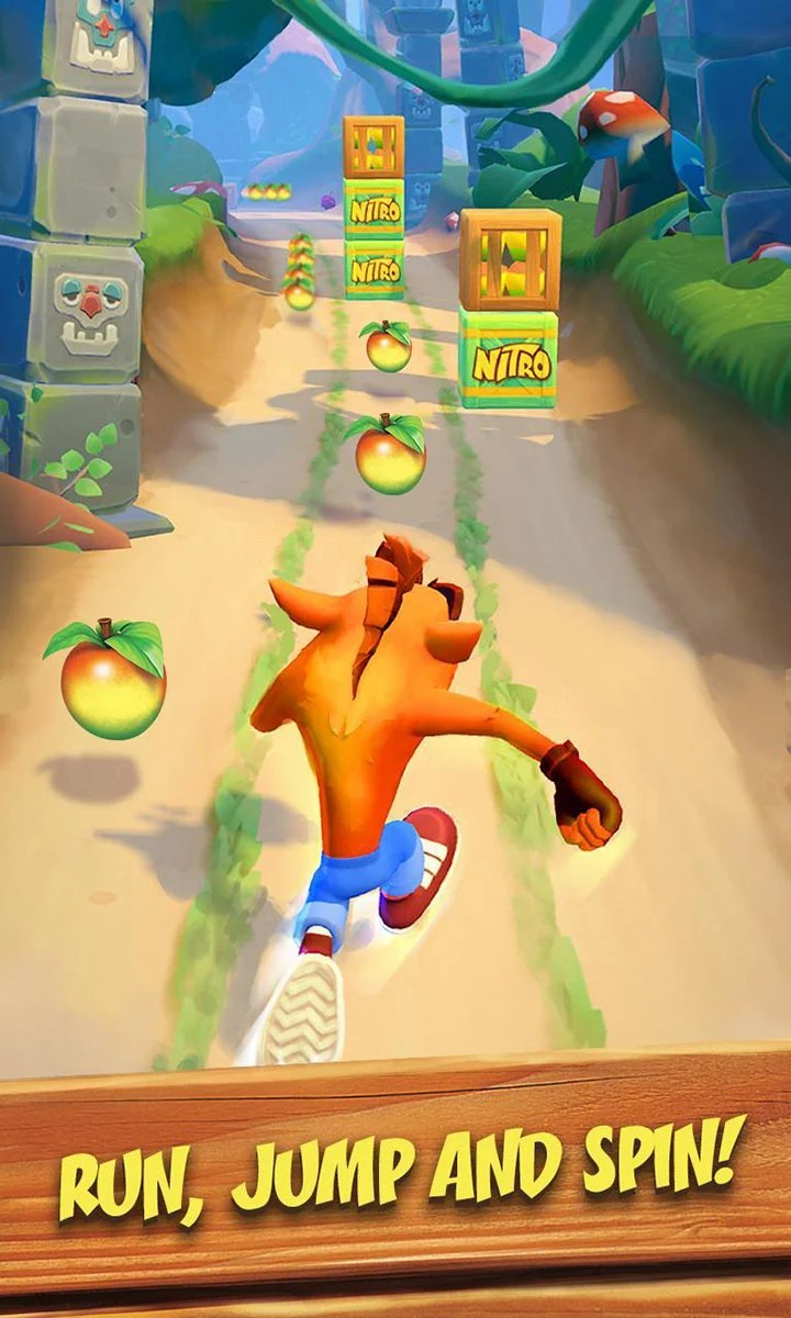 Crash Bandicoot Run on screen 2