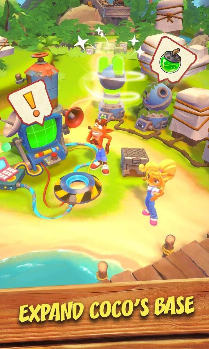 Crash Bundicut Run on screen 3