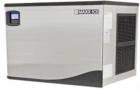 This Modular Ice Maker by Maxx Ice can produce up to 373 pounds of ice per day. The unit features a durable stainless steel exterior. hinged front panel and automatic cleaning cycle.