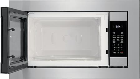 frigidaire fgmo226nuf gallery series 24 inch built in 2 2 cu ft capacity microwave oven