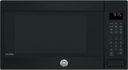 ge profile peb9159djbb 1 5 cu ft capacity countertop microwave