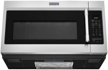 maytag mmv5227jz 30 inch over the range 1 9 cu ft capacity microwave oven
