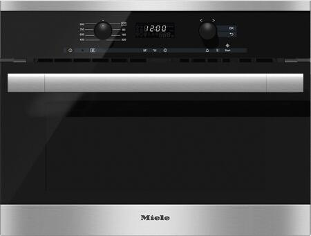 miele m6160tc 24 inch built in 1 62 cu ft capacity microwave oven