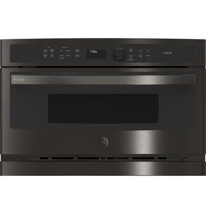 ge profile psb9240blts 30 inch 1 7 cu ft total capacity electric single wall oven microwave combo oven