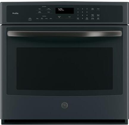 ge profile pt7050fmds 30 inch 5 cu ft total capacity electric single wall oven