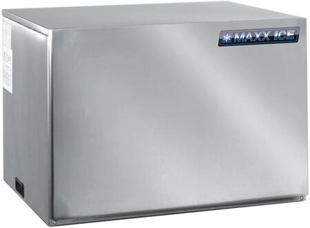 This Modular Ice Maker by Maxx Ice can produce up to 615 pounds of ice per day. The unit features a durable stainless steel exterior. air cooled compressor and automatic cleaning cycle.