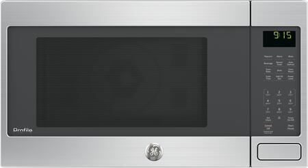 ge profile peb9159sjss 1 5 cu ft capacity countertop microwave
