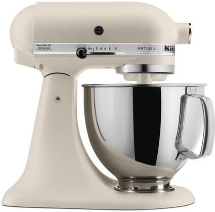 Mini tilt head design mixer with a bowl size of 5 quarts which can make up to capacity of 9 dozen cookies It finish in stainless steel that make the product more durable and easy to clean after being use It also has 10 optimized speed that you can ch...