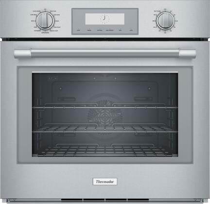 thermador pod301w professional series 30 inch 4 5 cu ft total capacity electric single wall oven
