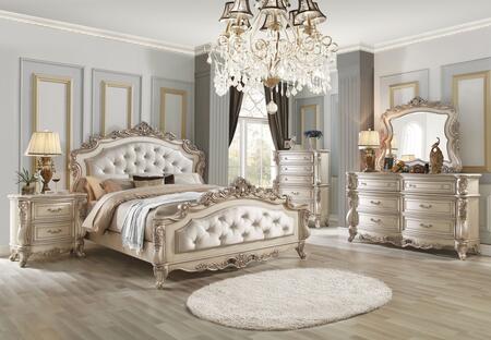 acme furniture gorsedd 5 piece king size bedroom set