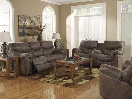 The Alzena reclining sofa is wrapped in a heavyweight faux leather upholstery adorned with jumbo stitched details for a sophisticated look. Relax and enjoy the cozy feel of the plush seat cushions and thick padded arms. The divided back design offers...