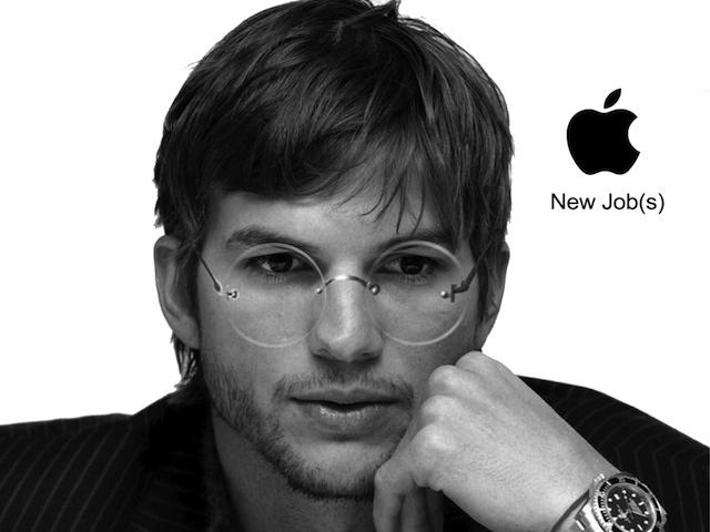 Ashton Kutcher trong vai Steve Jobs
