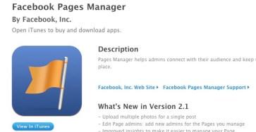 Facebook cập nhật ứng dụng Facebook Pages Manager