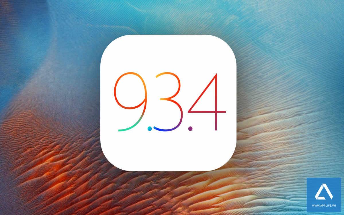 """Apple phát hành iOS 9.3.4 nhằm """"sửa một lỗi bảo mật nghiêm trọng"""" (Cập nhật: vá jailbreak của PanGu)"""