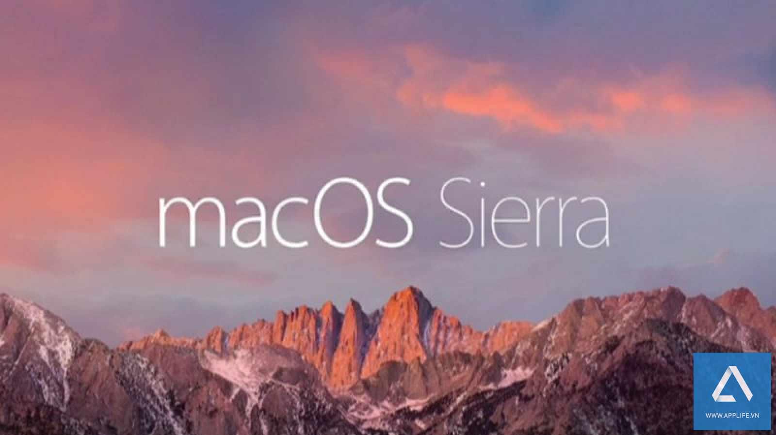 macOS Sierra sẽ tự động tải về trên hầu hết các máy Mac