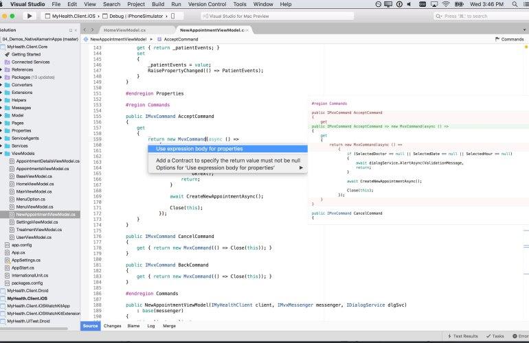 Microsoft Visual Studio for Mac