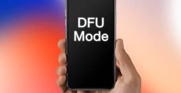 iPhone X DFU