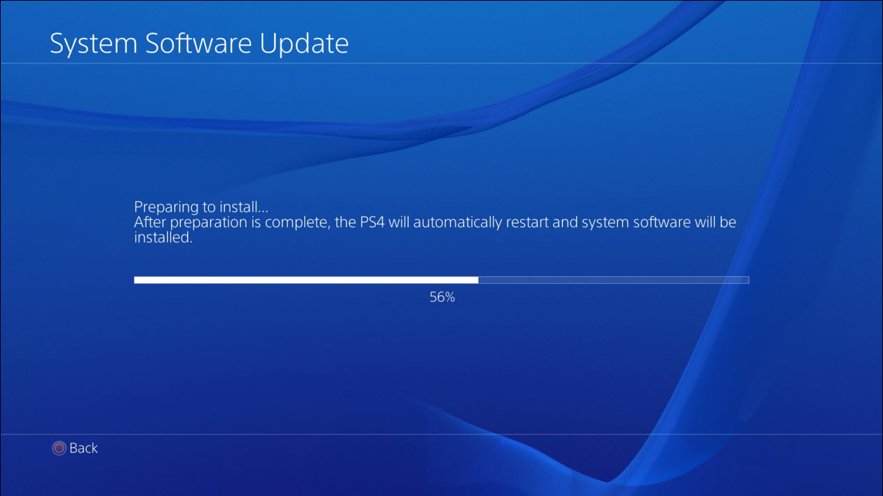 PS4 Update Firmware