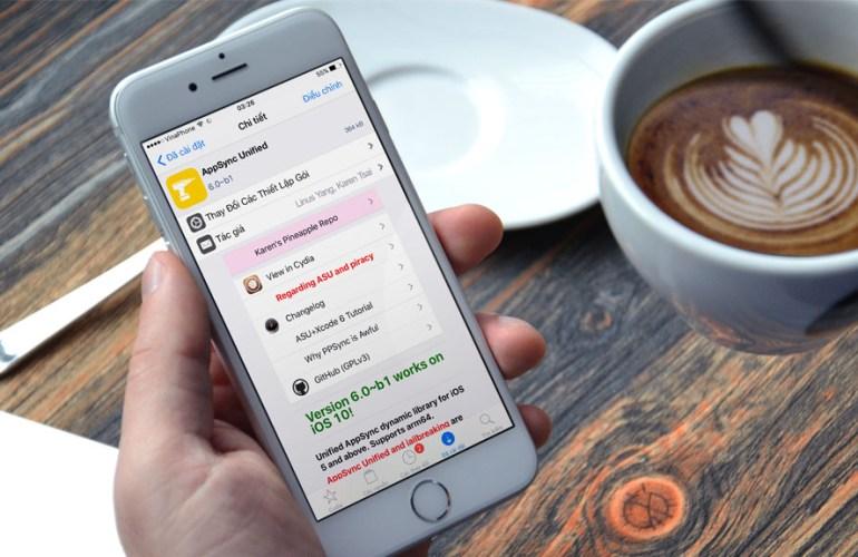AppSync Unified đã được update cho Jailbreak iOS 10.3.3