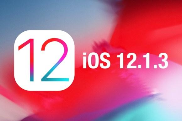 Đã có iOS 12.1.3 cho iPhone, iPad, iPod touch (Kèm link tải)
