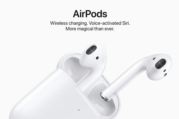 AirPods 2 ra mắt, xài chip H1, sạc không dây, giá 159 USD