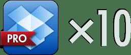 Dropbox Pro x10