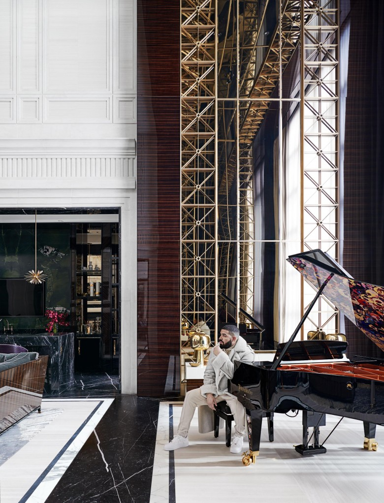 Take a look inside the luxurious Drake Palace in Toronto