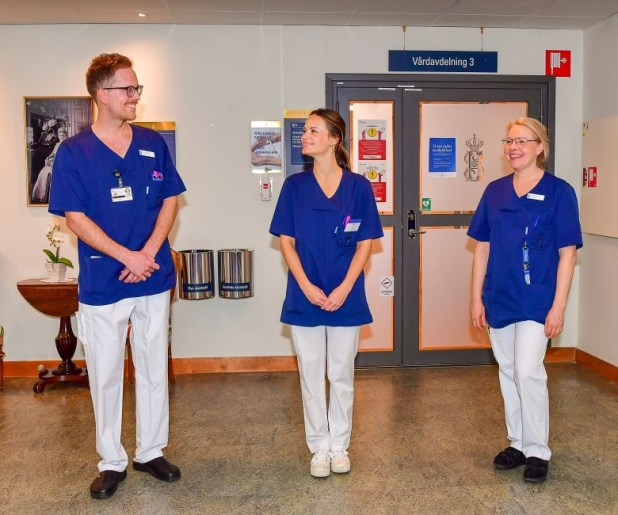 كورونا.. الأميرة صوفيا تنضم لطاقم تمريض أحد مستشفيات السويد