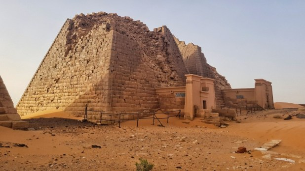 """منطقة """"البجراوية"""" الأثرية في السودان"""