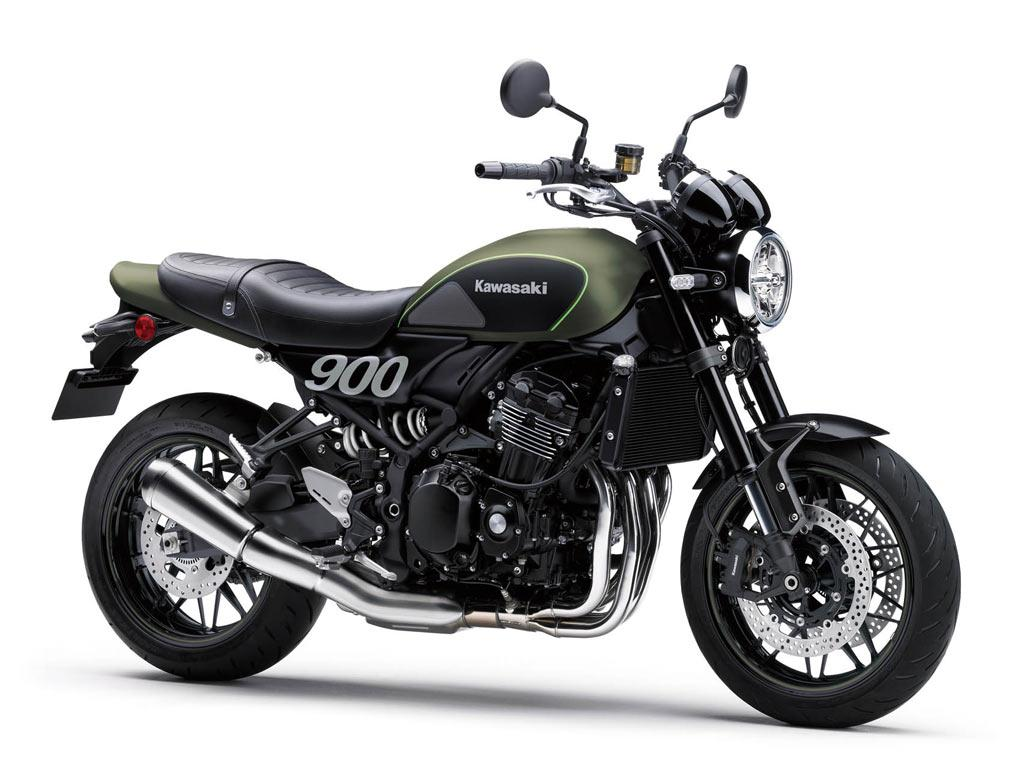 Image result for 2018 Kawasaki Z900RS gets all black colour treatment – Price Rs 15.3 lakh