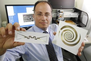 Turning radio waves into power (with circuits printed on paper)