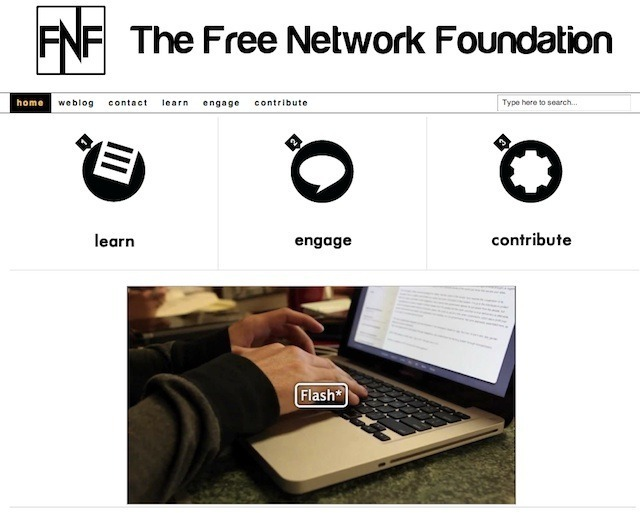 The Free Network Foundation has worldwide plans