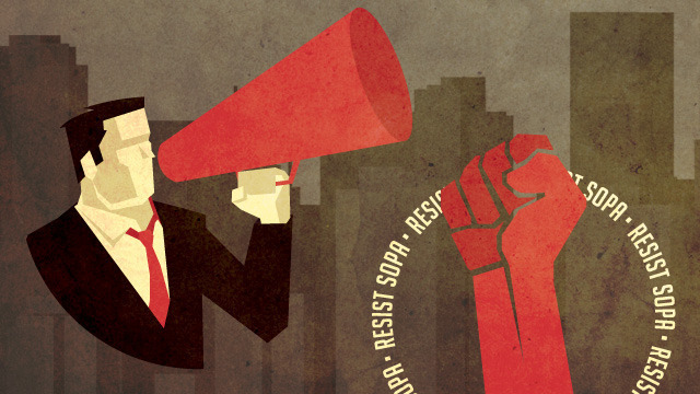 Protesting SOPA: how to make your voice heard