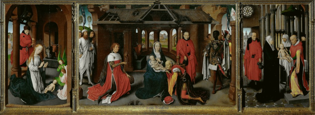 Triptych with the Birth, the Adoration of the Magi, and the Presentation in the Temple