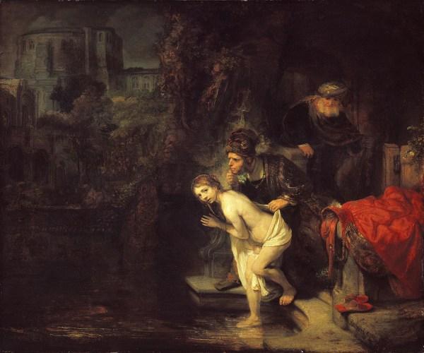 Rembrandt Harmensz. van Rijn: Susanna and the Elders