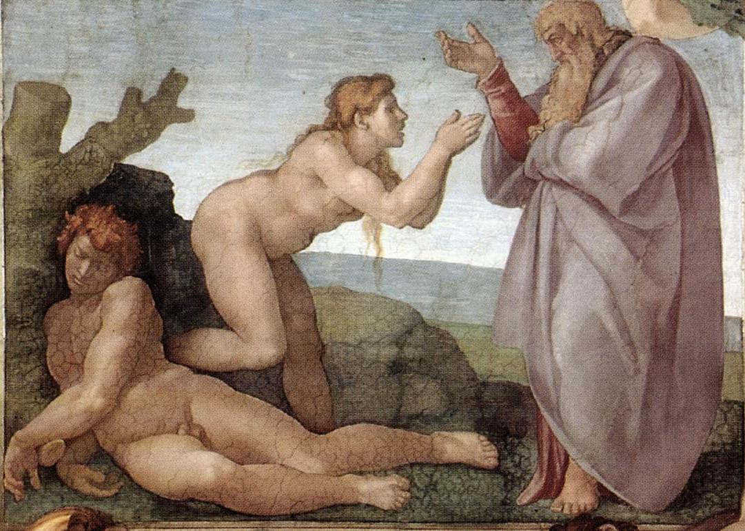 Michelangelo - Crearea Evei