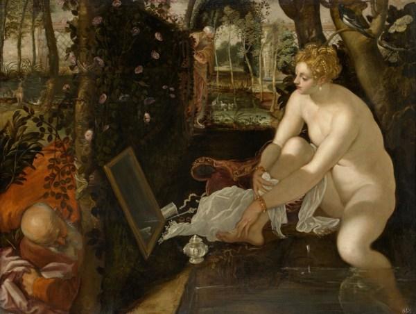 Il Tintoretto: Susanna and the Elders