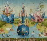 Garden of Earthly Delights - central panel (fountain)